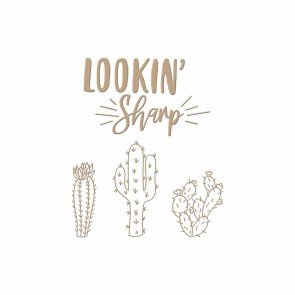 Lookin' Sharp Hot Foil Plate - Spellbinders