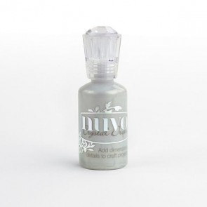 Metallic Silver Lining - Nuvo Crystal Drops