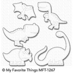 Delightful Dinosaurs - Fustella My Favorite Things