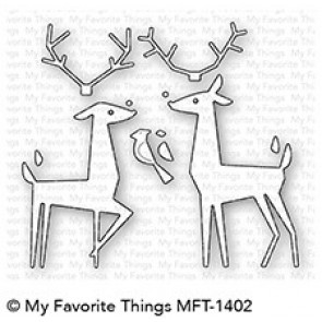 Delightful Deer - Fustella My Favorite Things