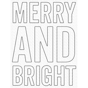 Very Merry and Bright  - Fustella My Favorite Things