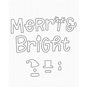 Merry and Bright with All the Trimmings - Fustella My Favorite Things