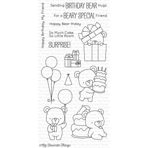 Beary Special Birthday - Timbro My Favorite Things