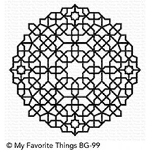 Moroccan Mosaic Background - Timbro My Favorite Things
