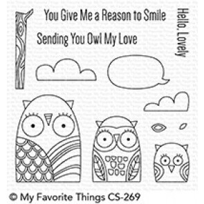 Owl My Love - Timbro My Favorite Things