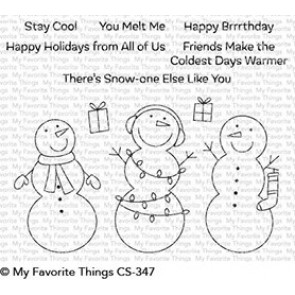 Frosty Friends - Timbro My Favorite Things