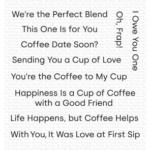 Cup of Love - Timbro My Favorite Things