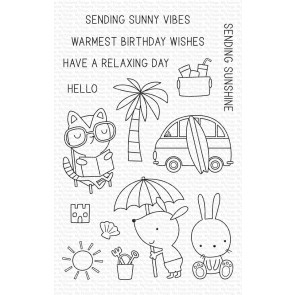Sunny Vibes - Timbro My Favorite Thingsv