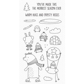 Warm Hugs and Frosty Kisses - Timbro My Favorite Things