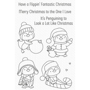 It's Penguining to Look a Lot Like Christmas - Timbro My Favorite Things
