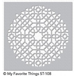Moroccan Mosaic - My Favorite Things Stencil