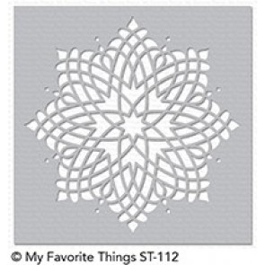 Captivating Mandala - My Favorite Things Stencil