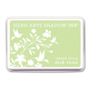 Inchiostro Hero Arts Mid Tone Shadow Green Hills