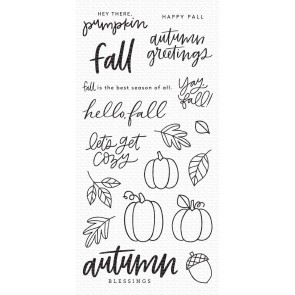 Autumn Blessings - Timbro My Favorite Things