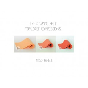 Peaches Bundle - Feltro Taylored Expressions