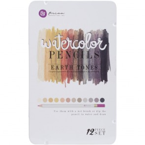 Earth Tone Set - Prima Watercolor Pencils