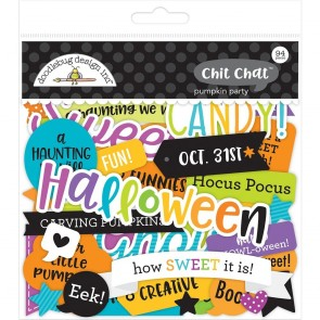 Pumpkin Party Chit Chat - Doodlebug Odds & Ends