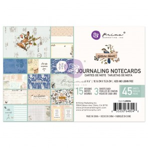 4x6 Inch Journaling Cards - Nature Lover - Prima Marketing