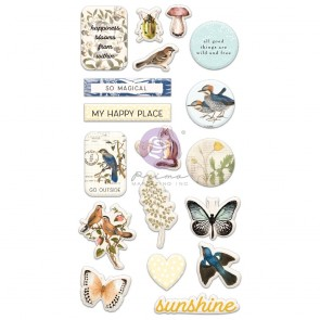 Puffy Stickers - Nature Lover - Simple Stories