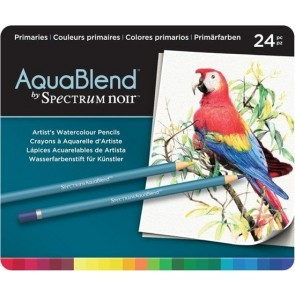 Primaries - Set da 24 Matite Aquablend Spectrum Noir