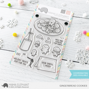 Gingerbread Cookies - Timbro Mama Elephant