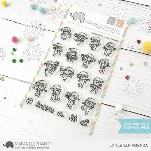 Little Elf Agenda - Timbro Mama Elephant