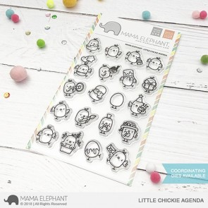 Little Chickie Agenda - Timbro Mama Elephant