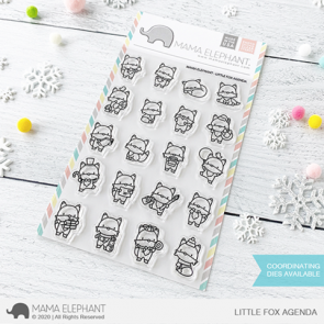 Little Fox Agenda - Timbro Mama Elephant