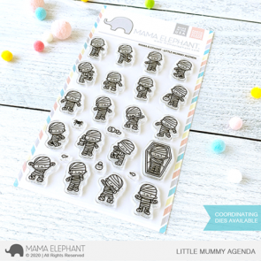 Little Mummy Agenda - Timbro Mama Elephant