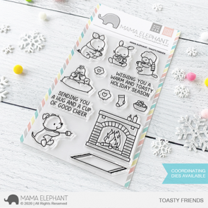 Toasty Friends - Timbro Mama Elephant