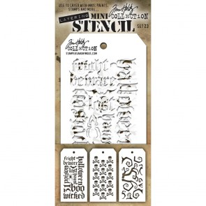 Set 23 - Layering Mini Stencil Set