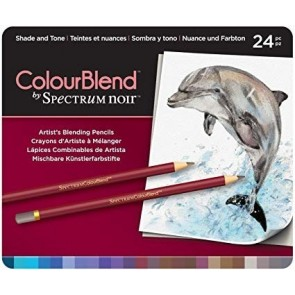 Shade and Tone - Set da 24 Matite Colourblend Spectrum Noir