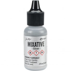 Silver Metallic Mixative - Tim Holtz Alcohol Ink