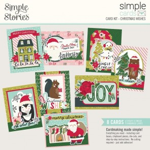 Christmas Wishes - Card Kit Holly Holly - Simple Stories