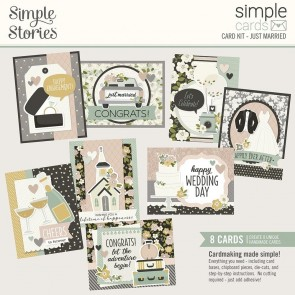 Just Married by Simple Stories - Kit Crea le tue Cards!