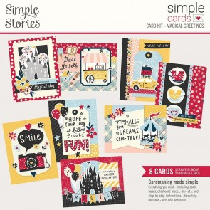 Magical Greetings by Simple Stories - Kit Crea le tue Cards!