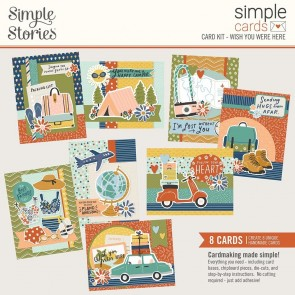 Wish You Were Here by Simple Stories - Kit Crea le tue Cards!