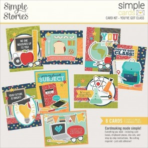 You've Got Class by Simple Stories - Kit Crea le tue Cards!