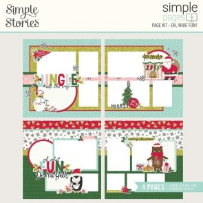 Oh, What Fun! - Simple Page Kit 12x12 - Simple Stories