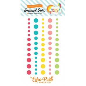Summer Party Enamel Dots - Echo Park