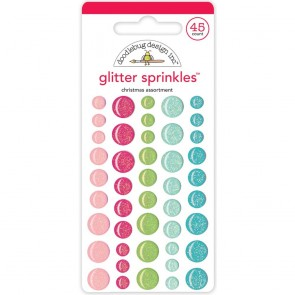 Milk & Cookies Christmas Sprinkles - Doodlebug