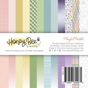 Playful Pastels - Blocco di carte Honey Bee