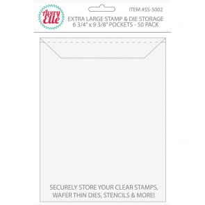 Extra Large Stamp and Die Storage Pockets