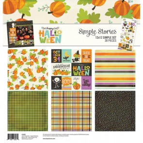Happy Halloween - Collection Kit di Simple Stories 30x30 cm