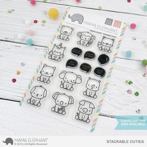 Stackable Cuties - Timbro Mama Elephant
