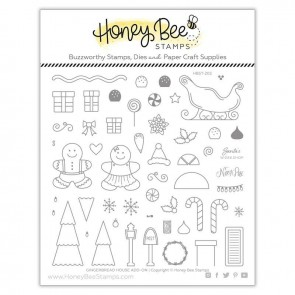Gingerbread House Add-On - Timbro Honey Bee