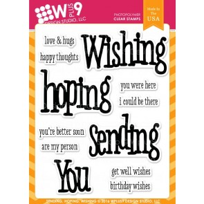 Sending Hoping Wishing  - Timbro WPlus9