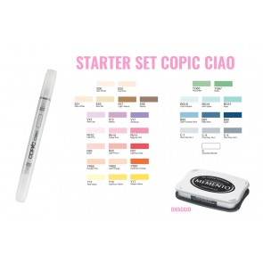 Copic Ciao Starter Set per Stamping -  32+1 pennarelli