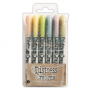 Set 8 - Distress Crayons