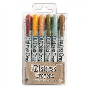Set 10 - Distress Crayons
